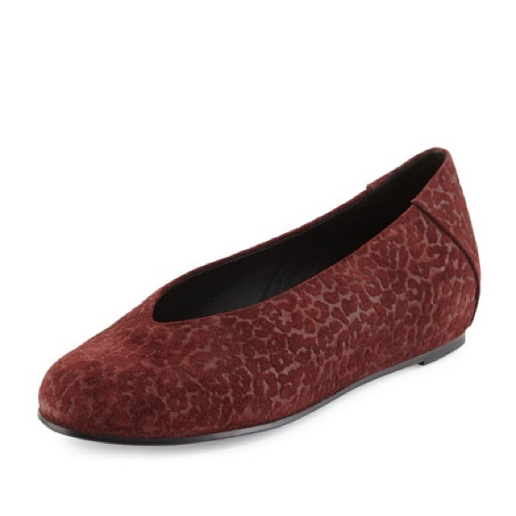 Eileen Fisher Patch Leopard Embossed Flats